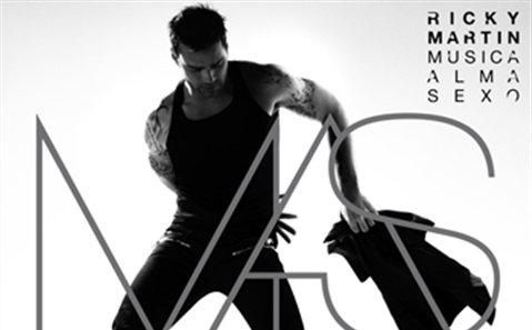 RICKY MARTIN Musica+Alma+Sexo (nuevo álbum)