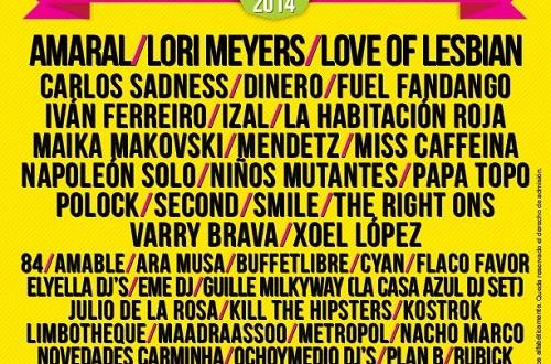 San San Festival, una buena excusa, para disfrutar del indie y electropop, en Semana Santa. 17,18 y 19 de Abril en Gandia.