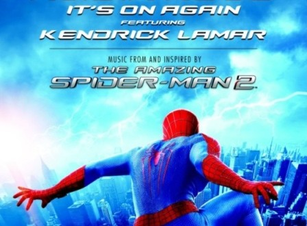 "SPIDERMAN 2: Alicia Keys (Feat. Kendrick Lamar) Lanza la canción ""It´s on again"", single de avance de la B.S.O. THE AMAZING, a la venta el 14 de abril."