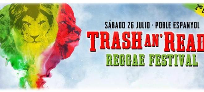 El Festival de Reggae TRASH AN´READY II, confirma los primeros nombres: Con Gentleman & The Evolution, Alborosie & The Shengen Clan, The Gladiators ft. Droop Lion, Sr. Wilson, La Senyoreta Descalça y Marcus Reggaeland