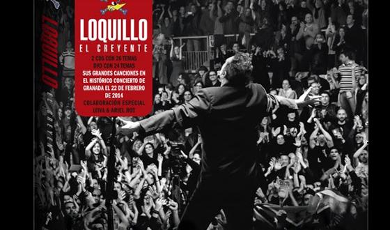 """Loquillo lanza un nuevo álbum en directo """"Los Creyentes"""", grabado en Granada."""