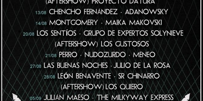 El NOCTURAMA de Sevilla, presenta el cartel con 25 grupos para Agost/Sept 2014.