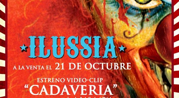 """La banda Mago de OZ, presentan """"Cadaveria"""", su primer single de su último disco ILUSSIA."""