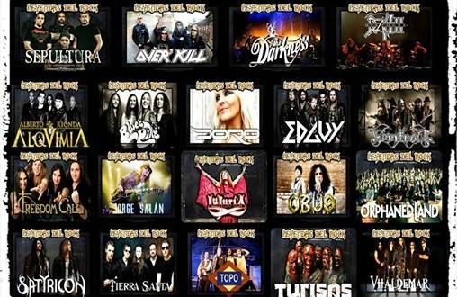 X Leyendas del Rock, anunciá las primeras confirmaciones, para el 5,6,7 y 8 de agosto de 2015, en Villena