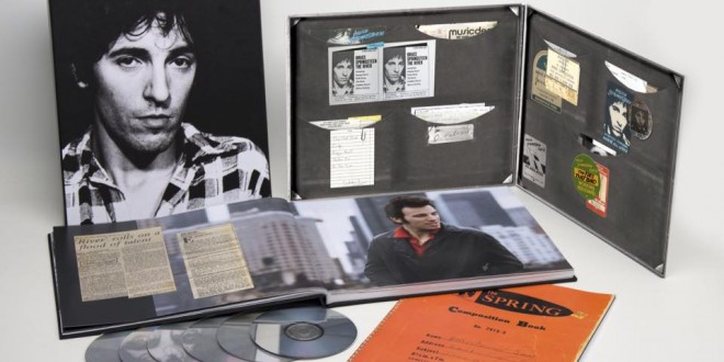 "La Caja recopilatoria de Bruce Springsteen  ""'THE TIES THAT BIND: THE RIVER COLLECTION"" a la venta el 4N"