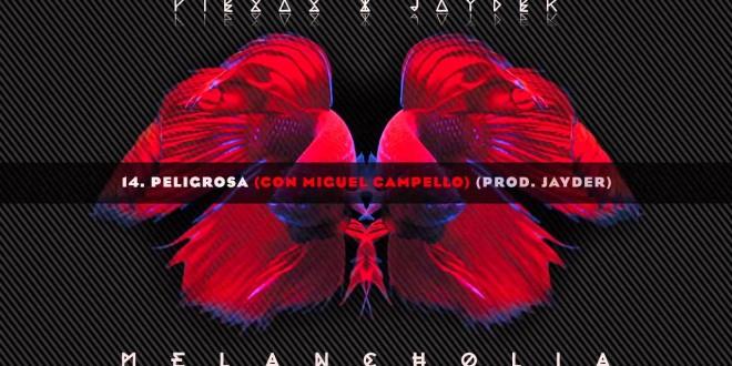 """""""Peligrosa"""" es el nuevo single de PIEZAS&JAYDER, en el que colabora MIGUEL CAMPILLO."""