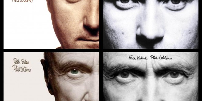 "Phill Collins, presenta la campaña retrospectiva ""Take a look at me now""."