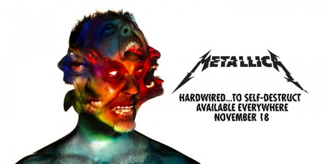 "METALLICA estrena  ""HARDWIRED"" y  anuncia su álbum ""HARDWIRED…. TO SELF DESTRUCT"" para el 18N."