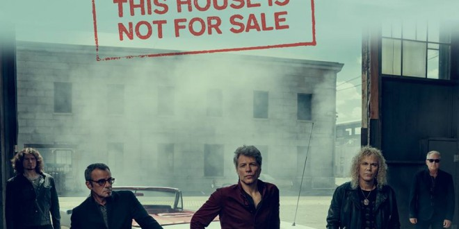 """This house is not for sale"" es el avance del nuevo disco de BON JOVI"