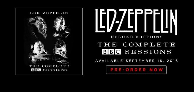 """8 nuevas canciones de LED ZEPPELIN, en la remasterización del  """"The complete BBC sessions"""""""