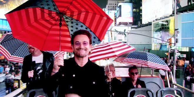 U2 presenta la versión en acústico de «You're The Best Thing About Me» su último single.