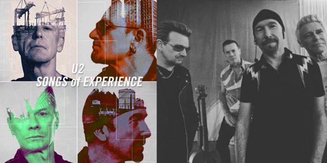 El nuevo disco de U2 «Songs of Experience» a la venta el 1 de Diciembre.